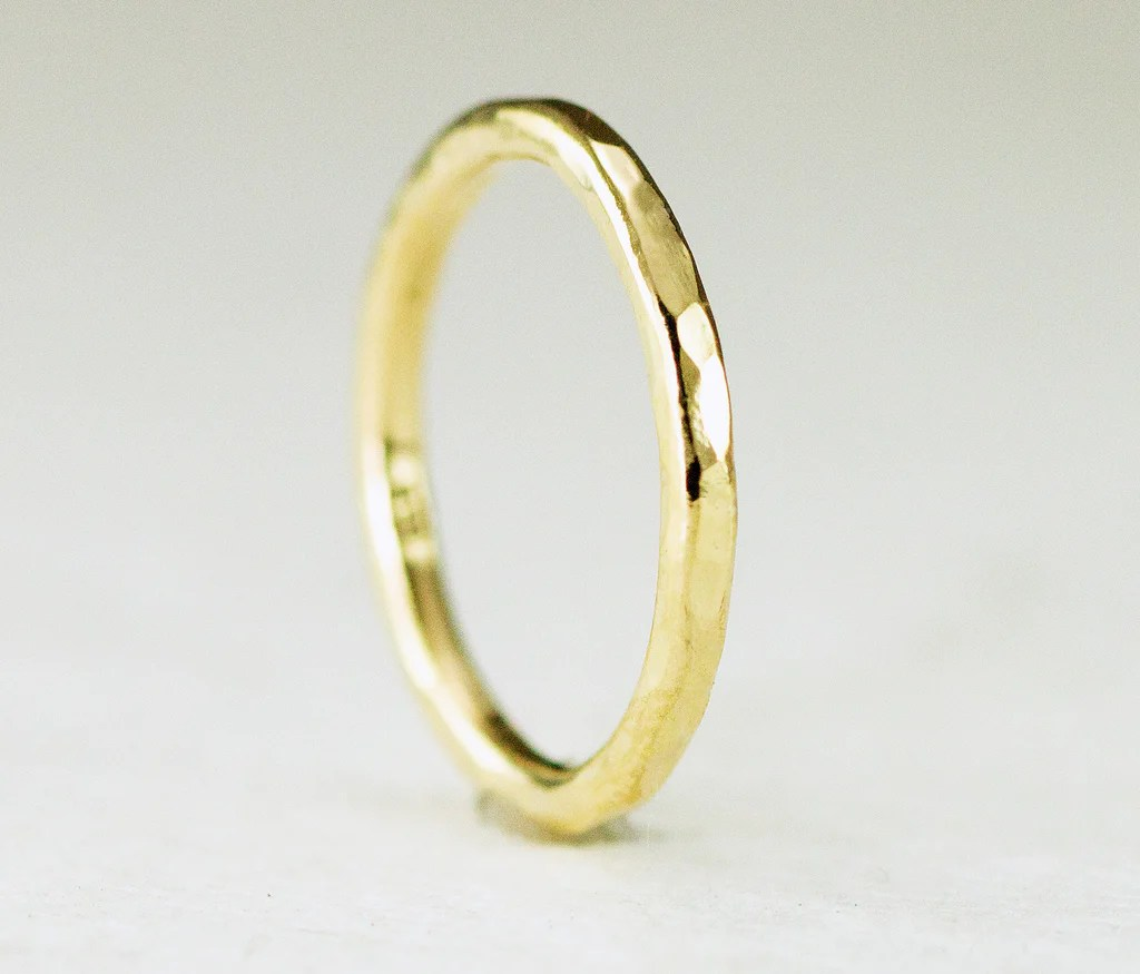 18k gold ring 18k gold wedding band 2mm halo band 18k gold wedding bands 18k Gold Ring 18k Gold Wedding Band 2mm Halo Band