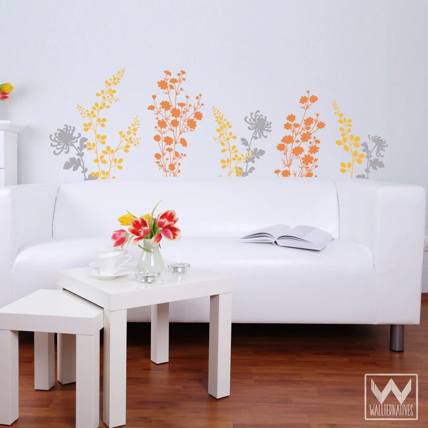 The Yellow Wallpaper Nursery Quotes Just Floral You Flower Nature Garden Vinyl Wall Decal For