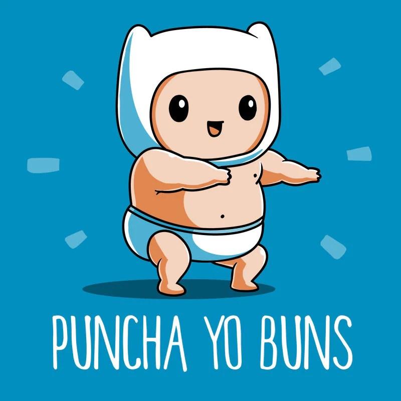 Cute Cat Images For Wallpaper Baby Finn Puncha Yo Buns T Shirt Official Adventure Time