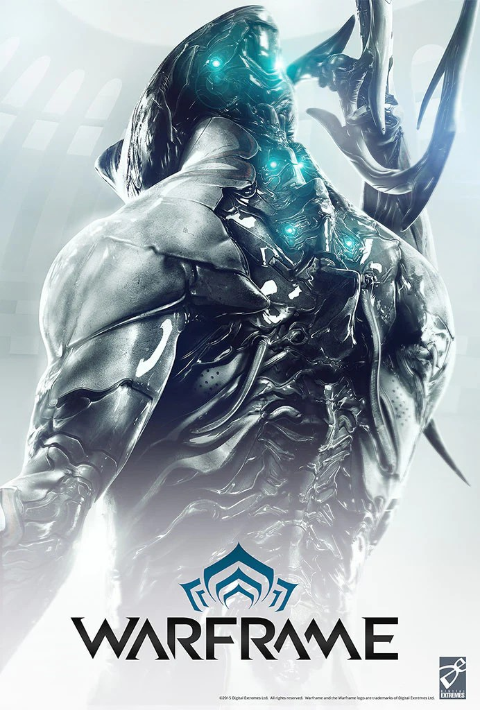 Iphone X Frame Wallpaper Excalibur Poster Progenitor The Official Warframe Store