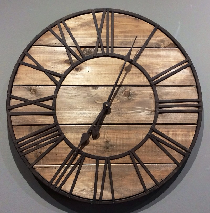 Large Of Roman Numeral Clock