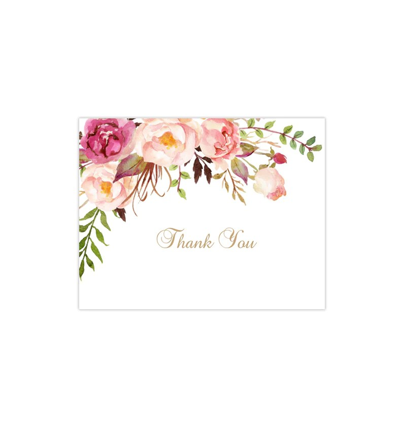 wedding thank you cards template wording