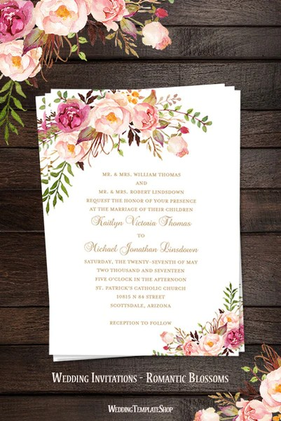 design your own invitations free printable
