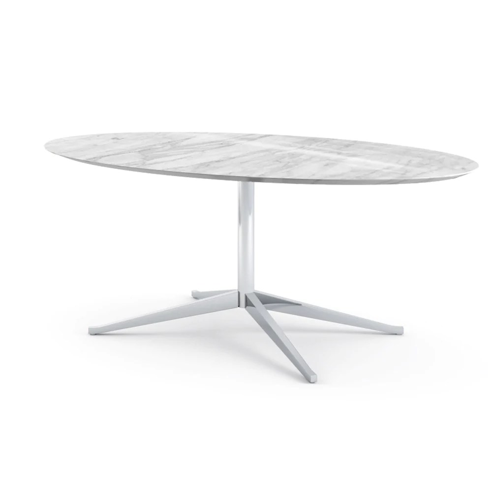 Knoll Table Florence Knoll Oval Table Desk Palette Parlor Modern Design