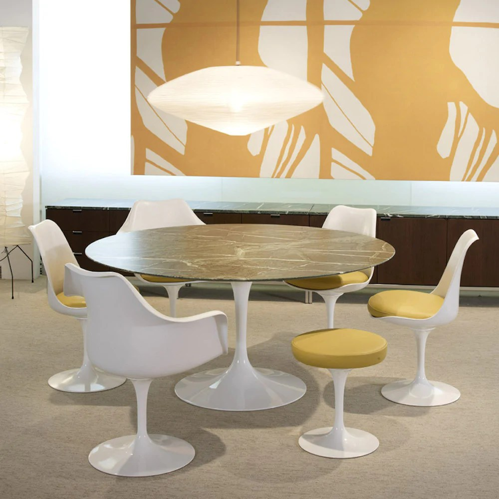Tables Designed By Architects Eero Saarinen | Tulip Stool | Knoll | Modern Furniture