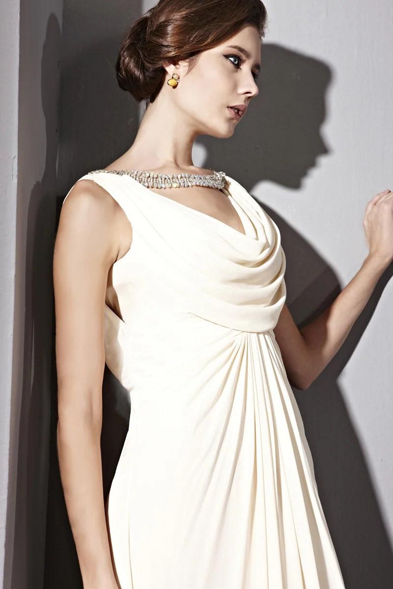 cowl+neck+wedding+dresses+uk cowl neck wedding dress Dresses Cowl Jeweled Cowl Neck Wedding