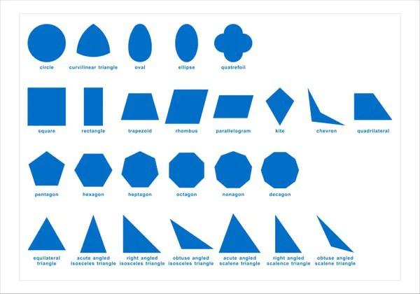 Montessori Geometric Cabinet Control Chart Righttolearn