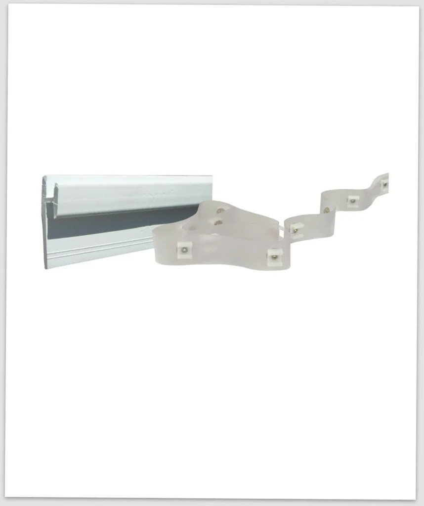 Wall Mount Curtain Track Curtain Track Wall Mount With Tape Type D Coleman Pop Up Parts