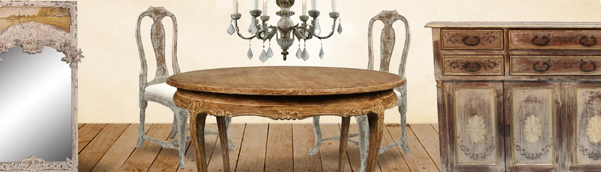 French Farmhouse Shabby Chic Furniture And Chandeliers Belle Escape