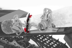 Metal Snowboard Rack System Dtm Cheetah Factory Racing