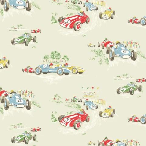 Cath Kidston Vintage Racing Car Wallpaper News Emily Rose Vintage