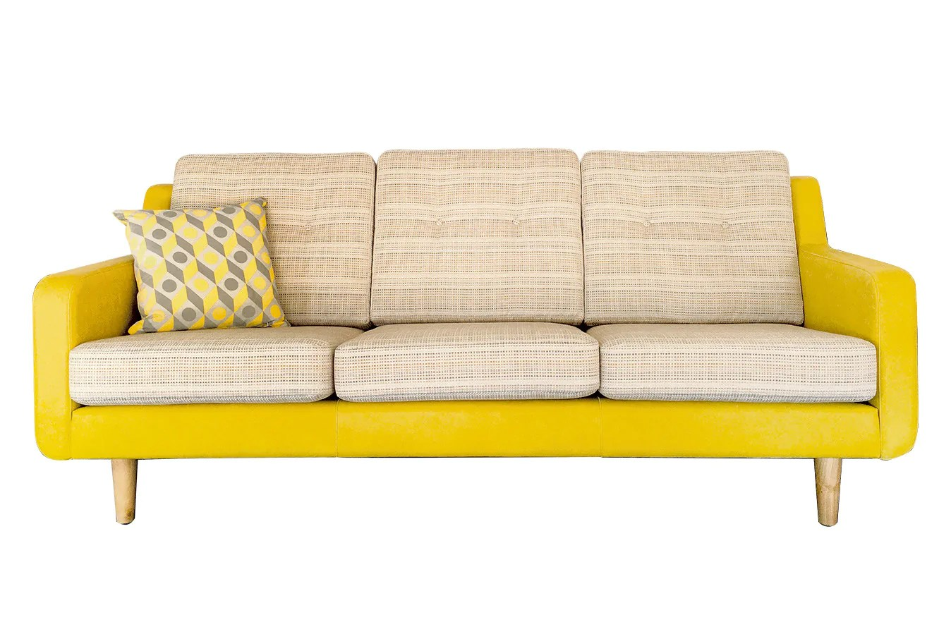 Retro Sofa Leather Xxl Sofa Retro