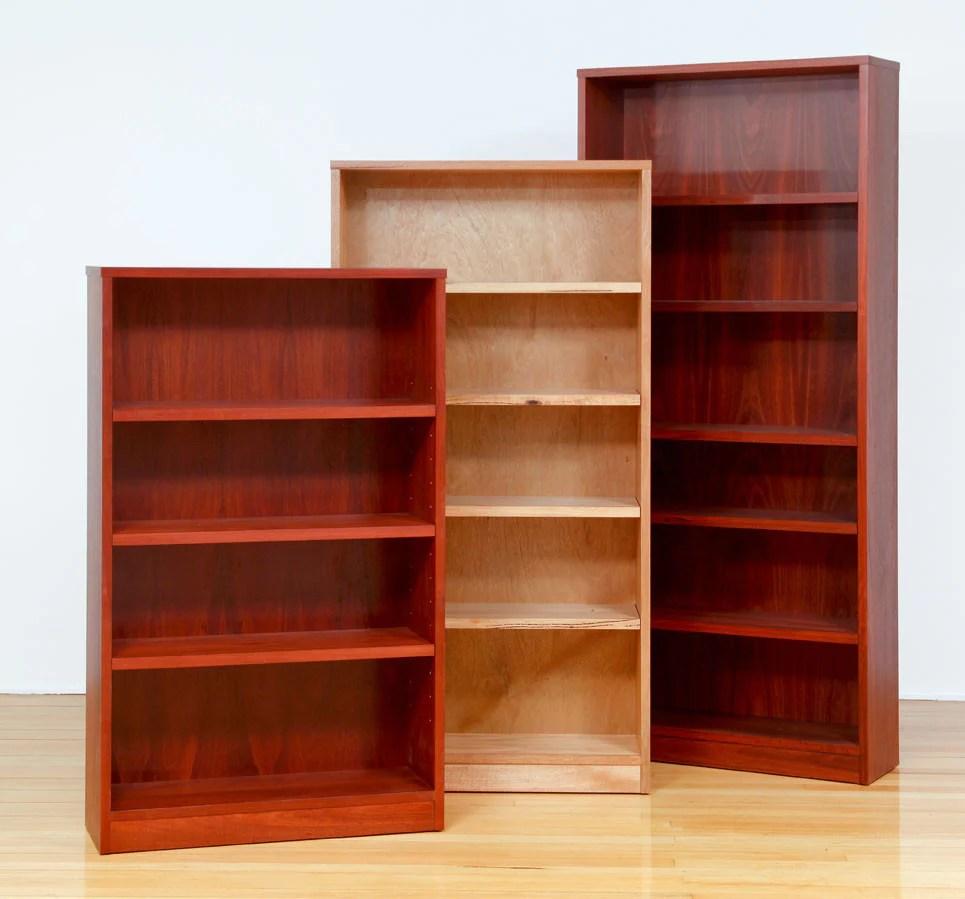 Concept Custom Timber Bookcases In Marri Jarrah
