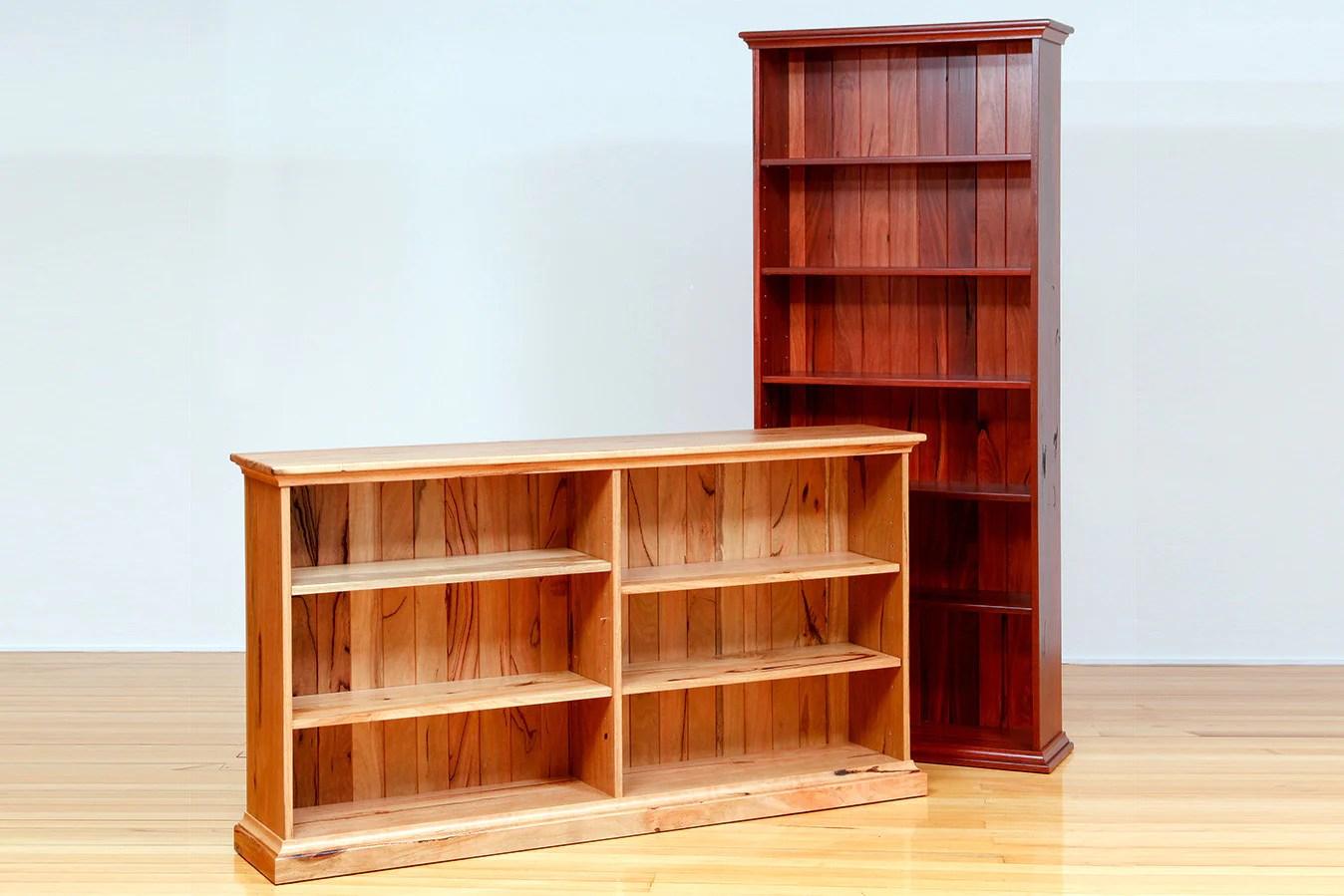 Denmark Solid Marri And Jarrah Custom Bookcases Bespoke