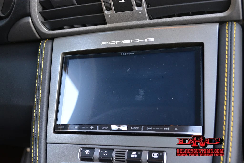Car Wallpaper Smartphone Pioneer Avic 8100nex Porsche Pcm Silver Dash Upgrade
