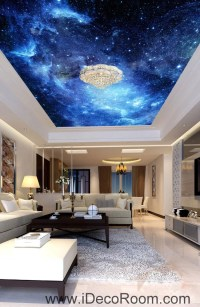 Galaxy Stars Night Sky 00075 Ceiling Wall Mural Wall paper ...