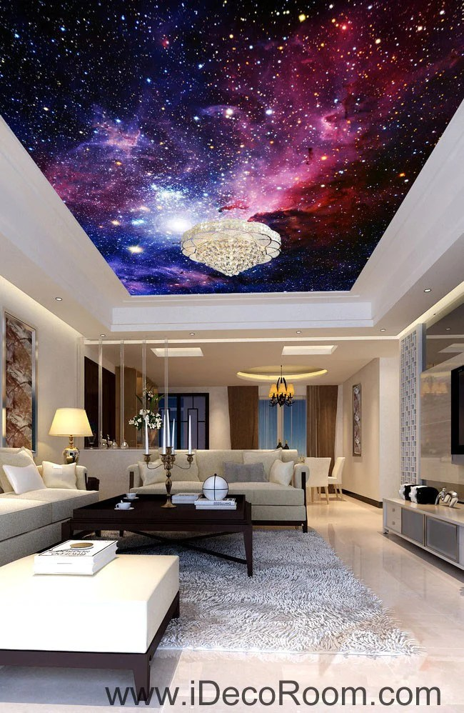 3d Flower Mural Wallpaper Galaxy Nubela Outerspace 00081 Ceiling Wall Mural Wall