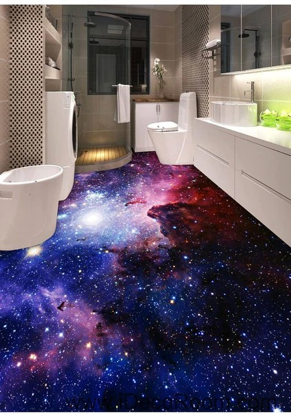 3d Floor Wallpaper Murals Galaxy Nubela Outerspace 00081 Ceiling Wall Mural Wall