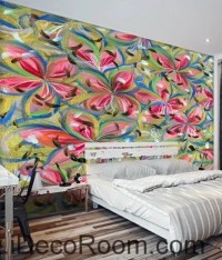 Abstract Art Wall Murals  Page 2  IDecoRoom