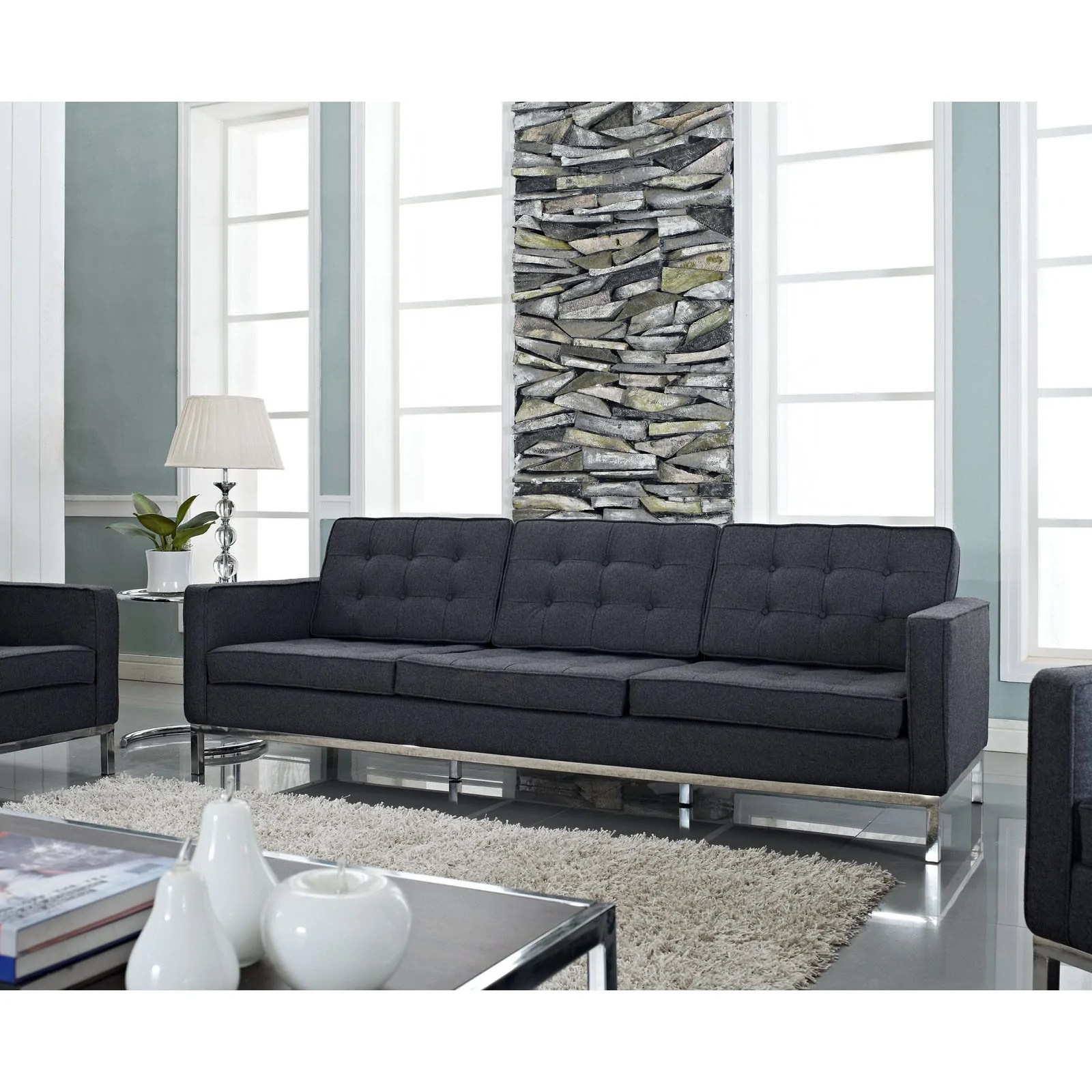 Florence Knoll Sessel Florence Knoll Wool Style Sofa Free Nationwide Shipping