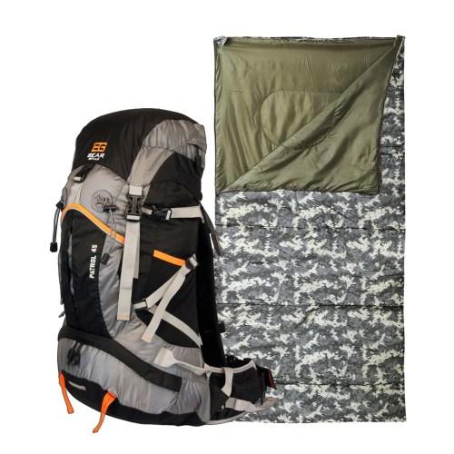Medium Crop Of Bear Sleeping Bag