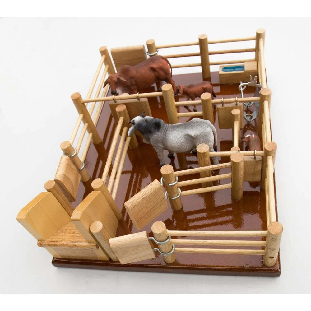 Cy2 Cattle Yard No 2 Handmade Wooden Toy Country