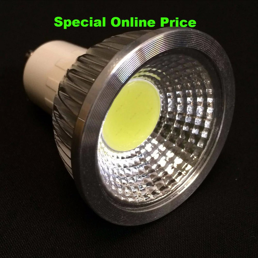 Led Spot Gu10 Gu10 3 5 Watt 400 Lumen Cob 60 Degree Led Spot Light