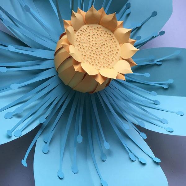 paper flower petal