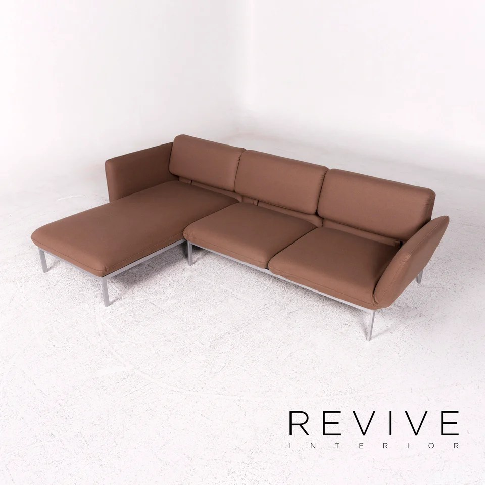 Brühl Sippold Roro Stoff Ecksofa Braun Sofa Relaxfunktion Schlaffunktion Couch 10192 Revive Interior Gmbh