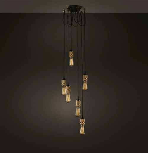 Medium Of Edison Bulb Chandelier