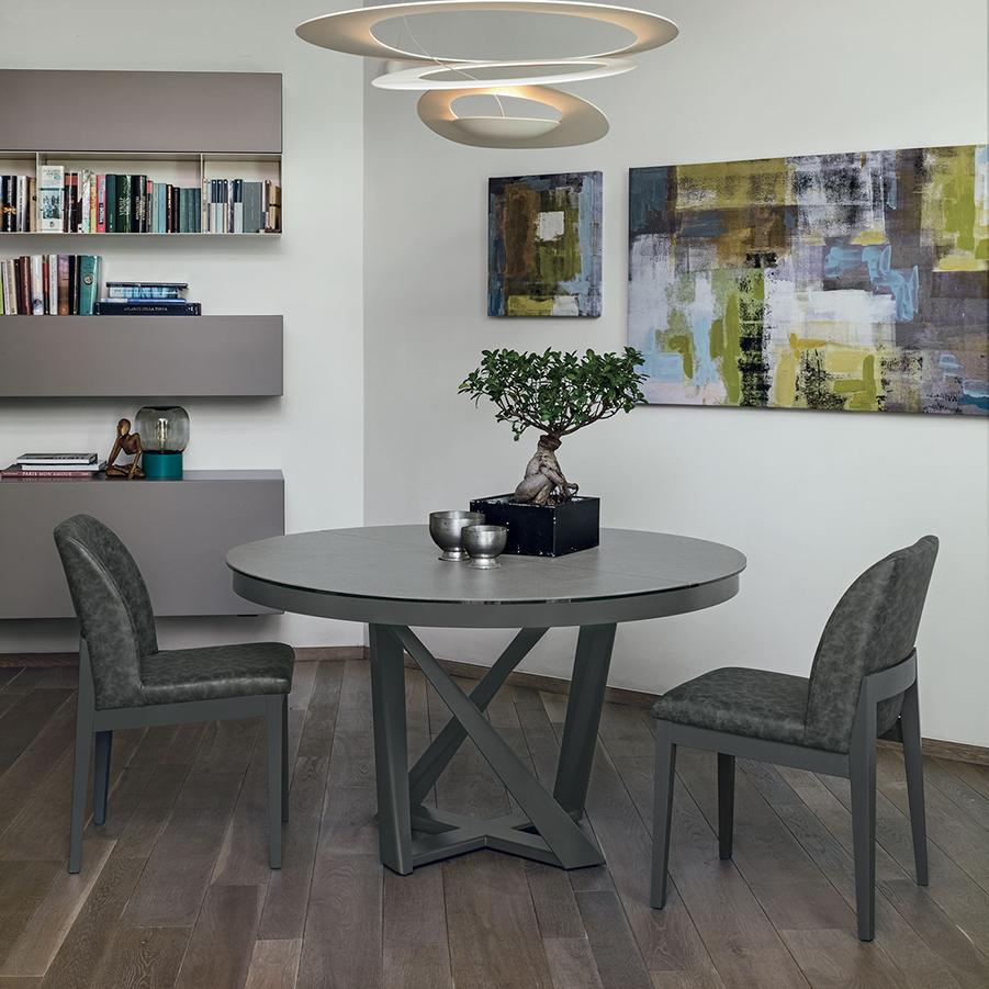 Cronos Round Dining Table Target Point Dining Room Furniture