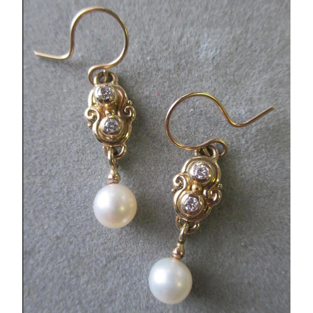 Where To Get Bridal Jewelry Bridal Earrings Er50yg By Richelle Leigh