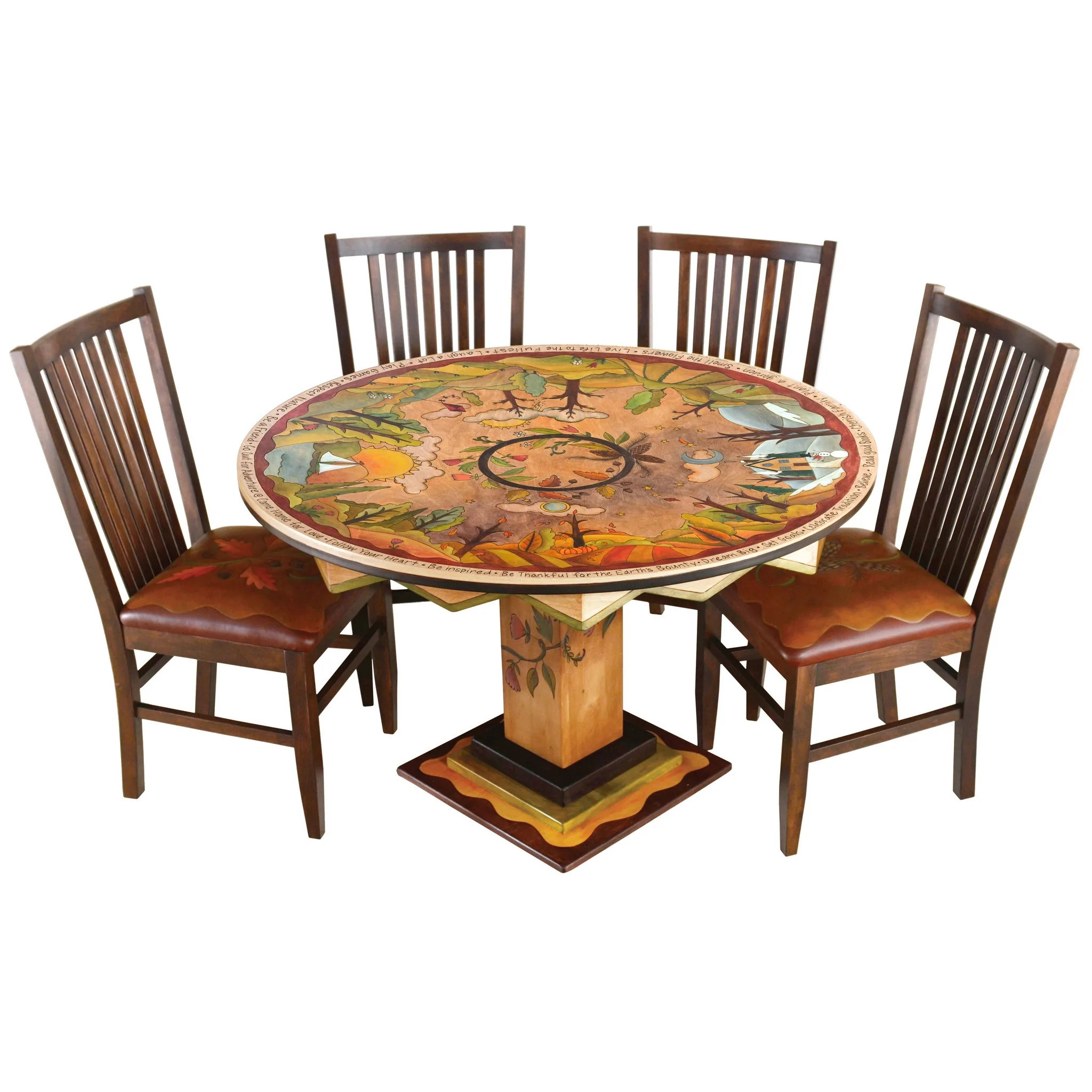 Dining Table Designs Round Dining Table By Sticks Din D73626
