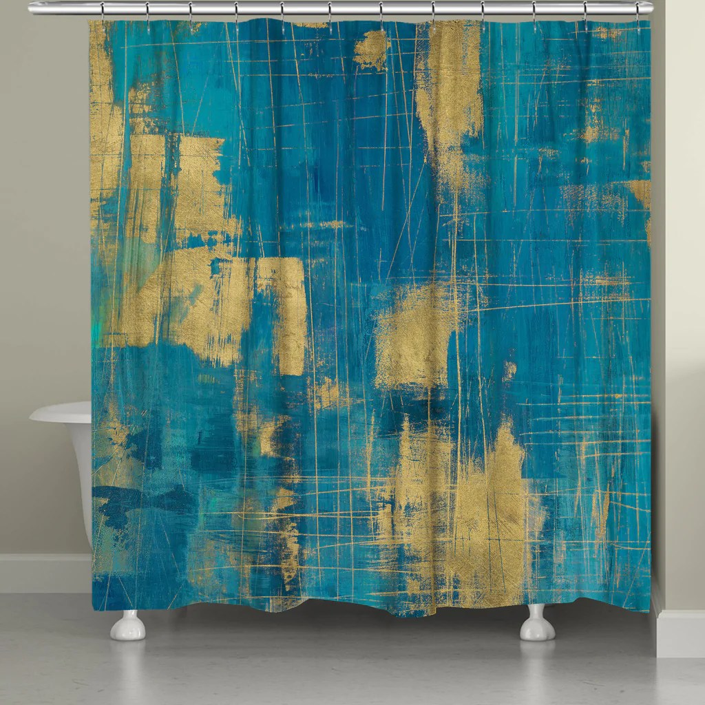How To Make Curtain Lights Northern Lights Shower Curtain