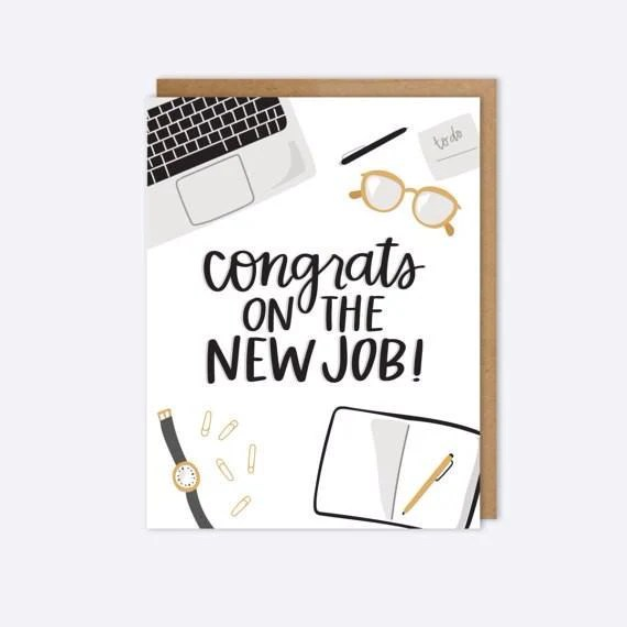congrats on the new job - Akbagreenw