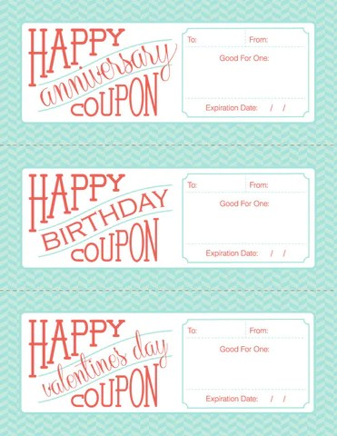 gift coupon template free - Acurlunamedia