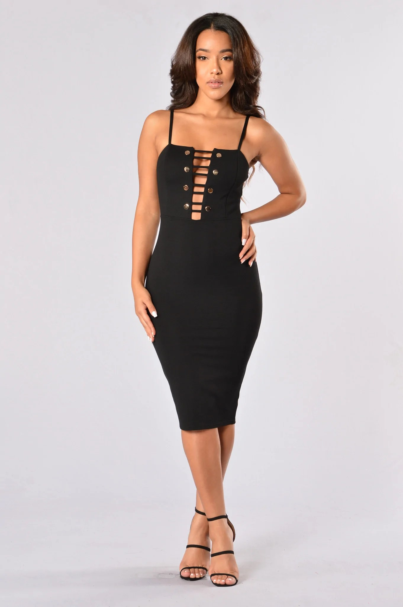 Party Chic Party Chic Dress Black