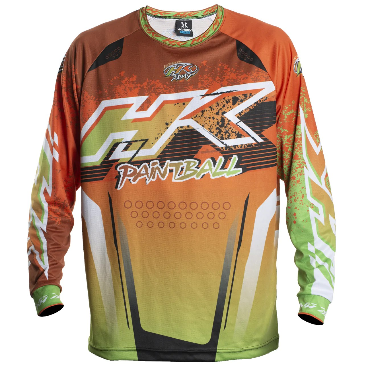 Retro Jerseys Liquid Orange Lime Retro Jersey