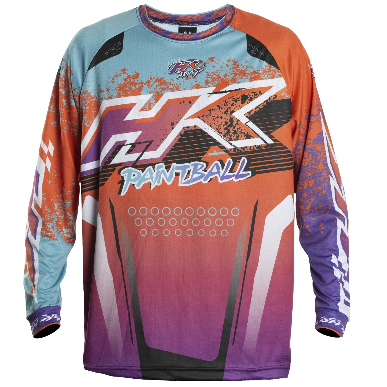 Retro Jerseys Liquid Orange Teal Retro Jersey