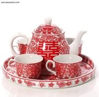 Chinese Wedding Tea Set Tea Ceremony  YannyExpress