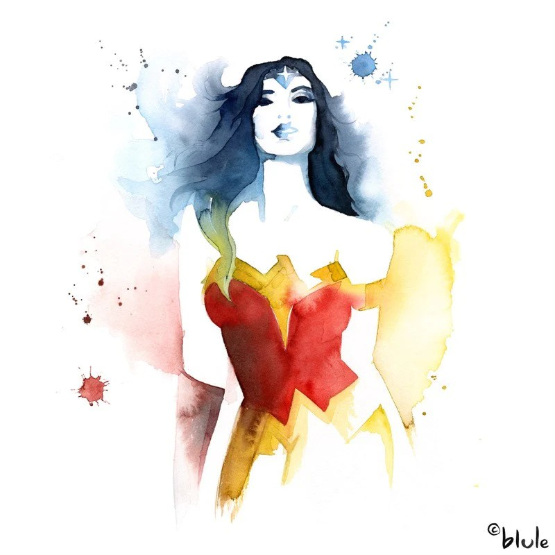 Painting Art Design Girl Wallpaper Gallery Tagged Quot Wonder Woman Quot Blule The Boutique