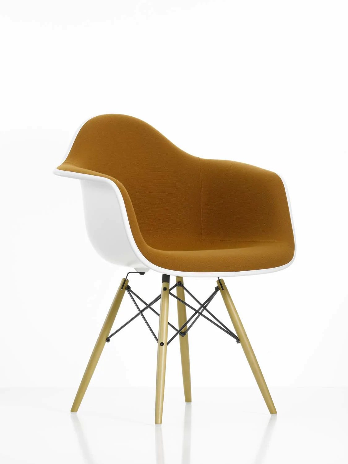 Eames Chair Beige Eames Daw Chair Fully Upholstered