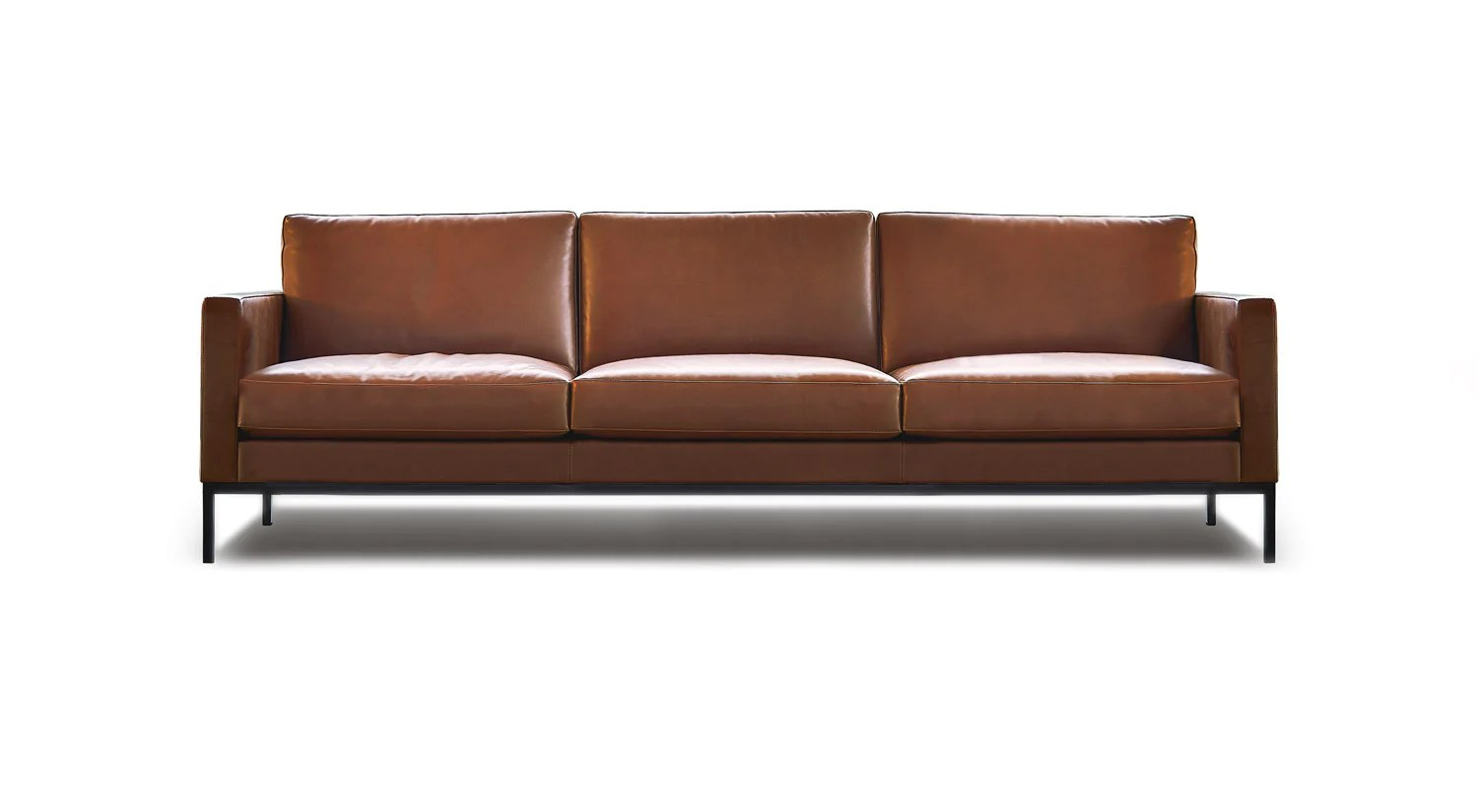 Florence Knoll Sessel Florence Knoll Relax 3 Seat Sofa Untufted