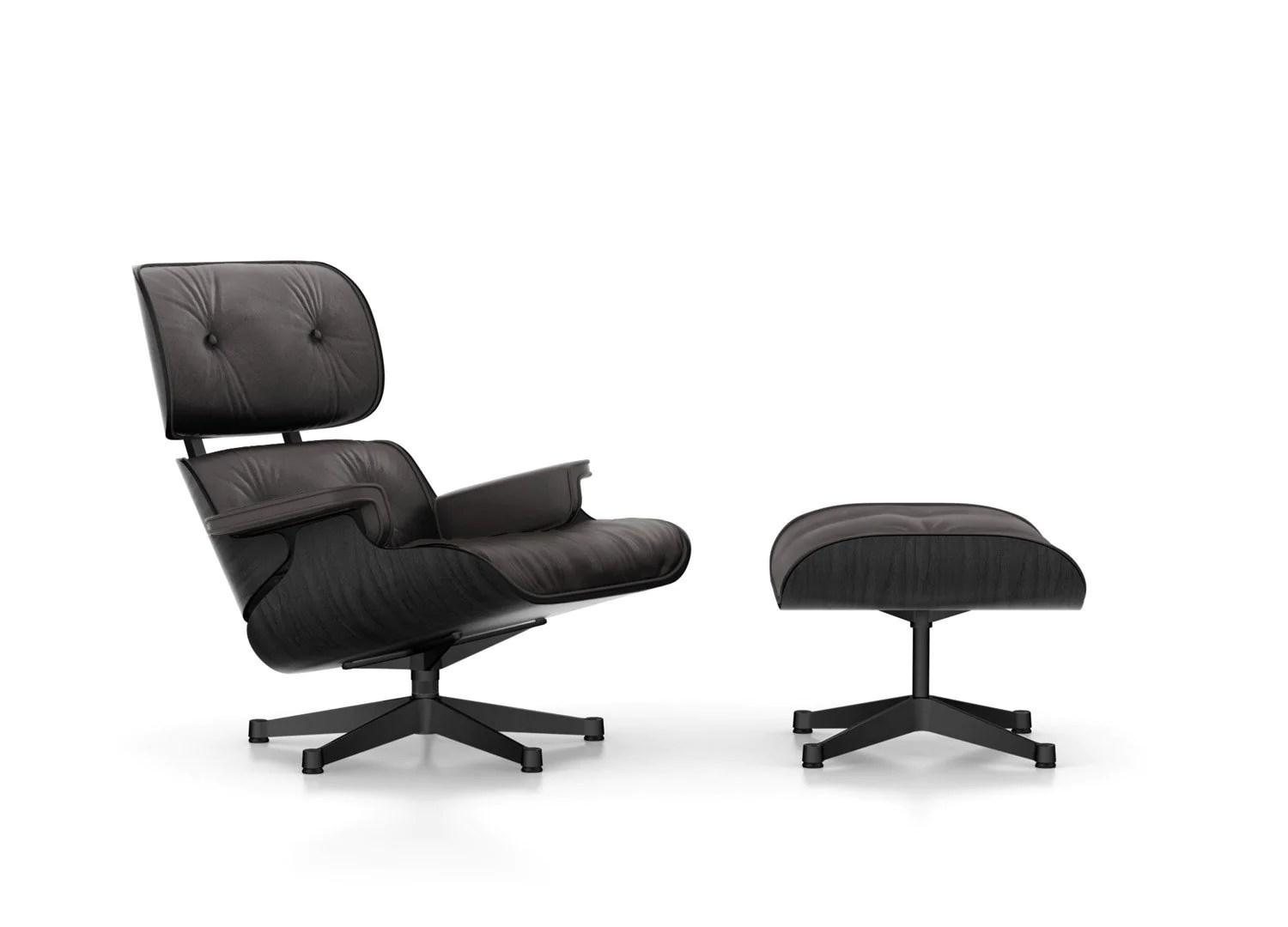 Lounge Couch Company Eames Lounge Chair Black Version Couch Potato Company