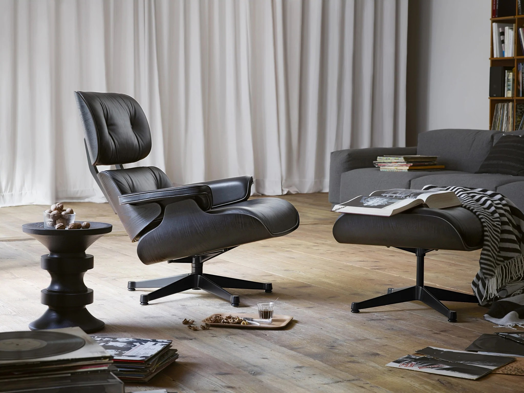 Vitra Eames Lounge Chair Black Eames Lounge Chair Black Version