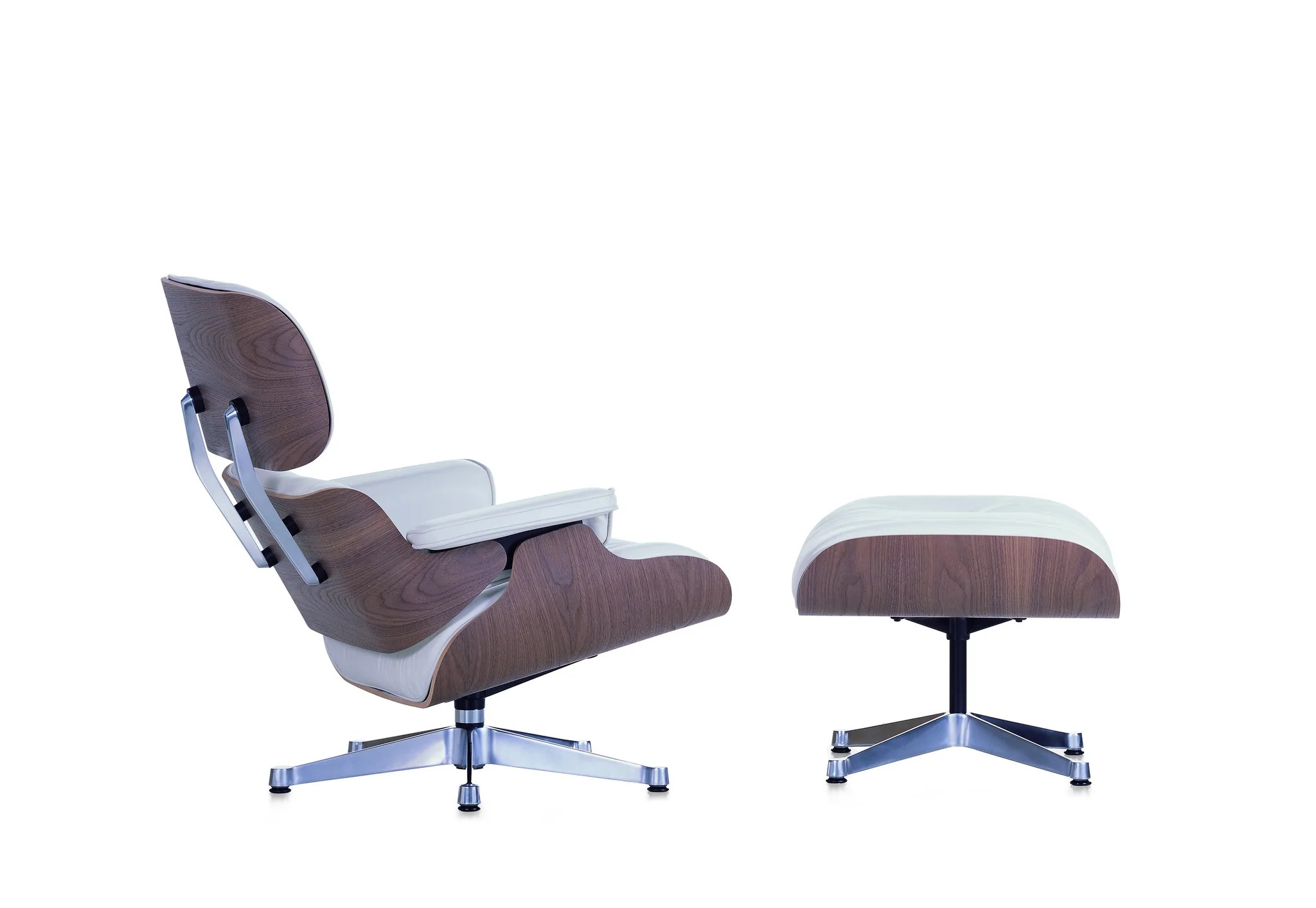 Vitra Eames Lounge Chair Dwg Eames Lounge Chair White Version
