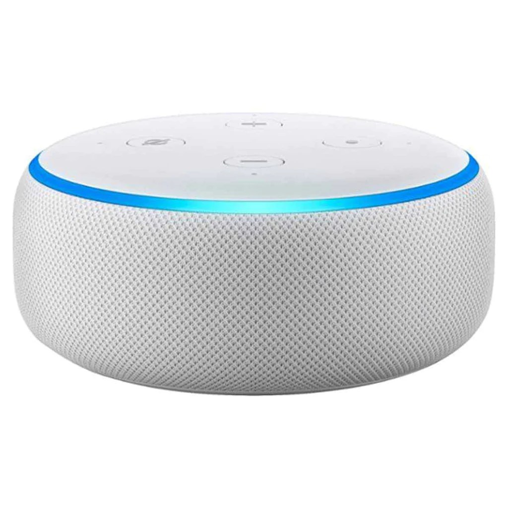 Alexa Dot Amazon Sandstone Echo Dot 3rd Generation Smart Speaker With Alexa