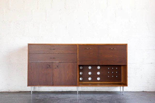 Designer Sofas Usa George Nelson For Herman Miller Credenza – The Good Mod