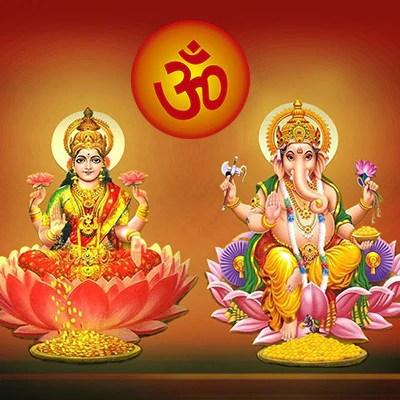 Dev Hd Wallpaper Ganesh Lakshmi Puja
