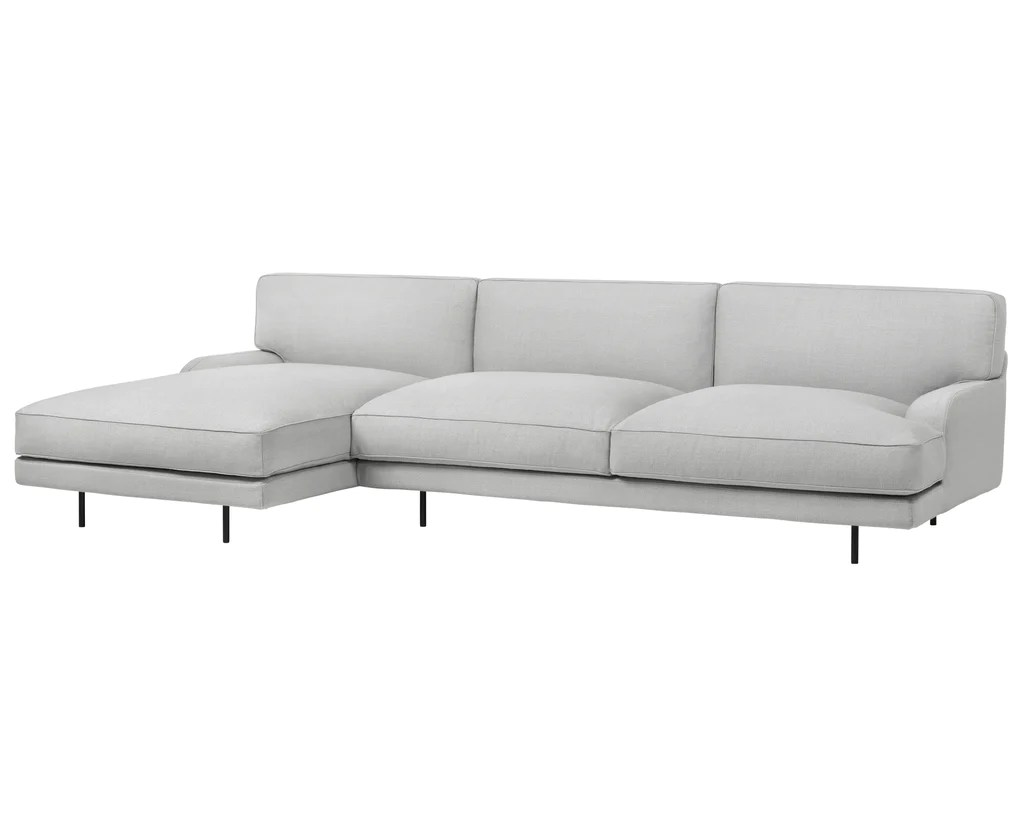Gubi Flaneur Sofa 2 Seater Chaise Longue By Gamfratesi Dshop